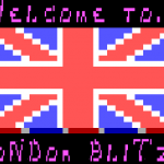 London Blitz Welcome Screen