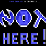 ANSI Artwork SysOp Not Available
