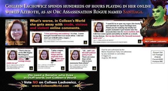 Political Attack Mailer Against Colleen Lachowicz